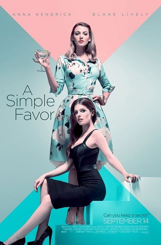 A Simple Favor 2018 DVDRip XviD AC3-EVO