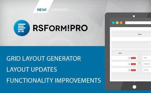 RSForm!Pro v2.1.0 - Joomla Form Builder and Manager - RSJoomla