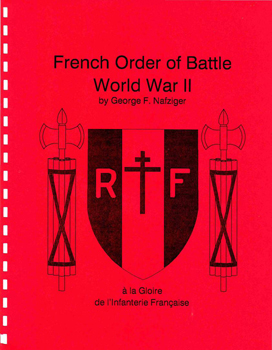 French Order of Battle World War II - Nafziger
