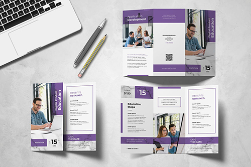 Education Trifold Brochure INDD