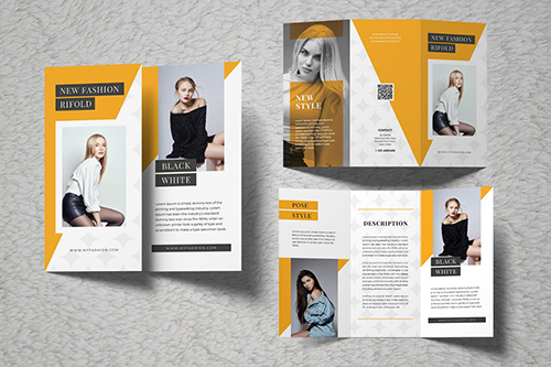 Trend Fashion Trifold Brochure