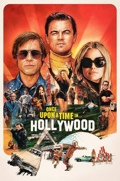 Once Upon a Time in Hollywood 2019 720p HDCAM-ORCA88