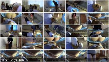 Femdom Scat (MilanaSmelly) 6 Girls Femdom Scat [HD 720p] Group, Humiliation