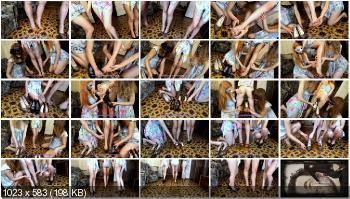 New scat (ModelNatalya94) Three pairs of shoes full of shit [FullHD 1080p] Amateur, Lesbians