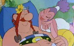 12 подвигов Астерикса / Les douze travaux d'Asterix (1976) HDRip - Profi