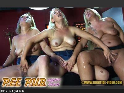 Ella, Gina Blonde, Rosella - PEE PUB - HAPPY HOUR (HD 720p/1.44 GB)