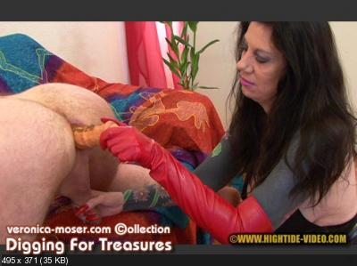 Veronica Moser, 1 male - VM62 - DIGGING FOR TREASURES [Hightide / 895 MB] HD 720p (Femdom, Domination, Strapon)
