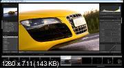 Съемка автомобилей. Обработка в Photoshop и Lightroom (2018) HDRip