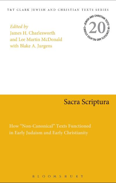 Sacra Scriptura How Non-Canonical
