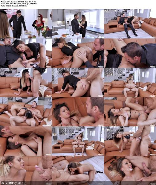 Brooklyn Chase - Fuck The Pain Away (Brunette) Milfty.com / MYLF.com [SD] ()