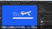 Cоздаём в Photoshop форму заказа авиабилетов (2018)