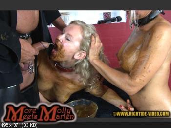 Hightide (Molly, Marlen, 1 male) MORE MOLLY MEETS MARLEN [HD 720p] Sex Scat, Blowjob, Lesbians
