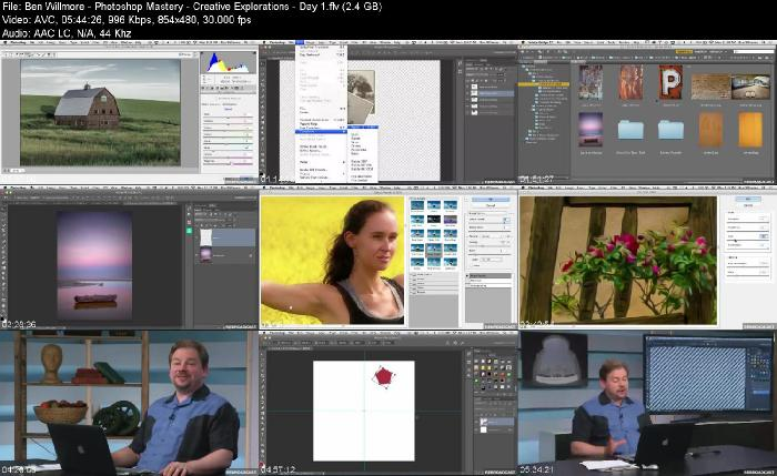 creativeLIVE - Photoshop Mastery  Creative Explorations with Ben Willmore