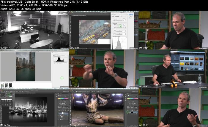 creativeLIVE - HDR in Photoshop with Colin Smith