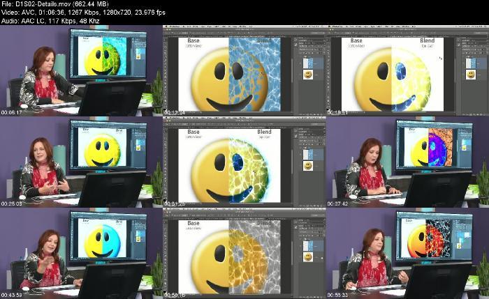 creativeLIVE - Photoshop Deep Dive  Blend Modes - HD