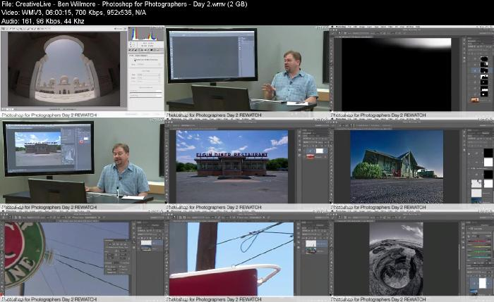 CreativeLive Ben Willmore Photoshop for Photographers