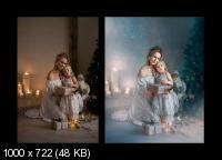 Бирюзовое волшебство. Художественная обработка фото (2018)