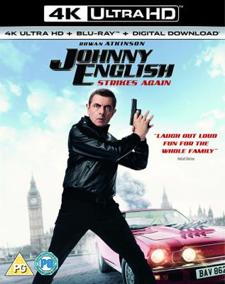Агент Джонни Инглиш 3.0 / Johnny English Strikes Again (2018) BDRemux 2160p | HDR | Лицензия