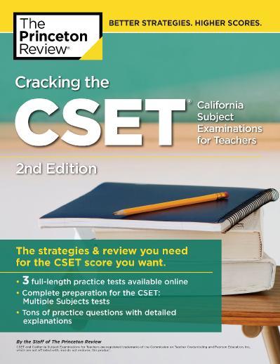 ing the CSET (California Subject Examinations for Teachers)
