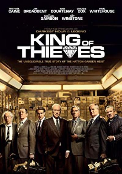 King Of Thieves (2018) [WEBRip] [720p]