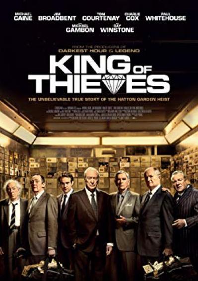King Of Thieves (2018) [WEBRip] [720p]