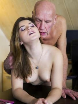 Evelina Darling - Sex With Old Man (2019) 1080p