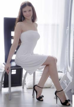 Margarita C - Beautiful Sex With Young Girl In White Dress (2019) 1080p