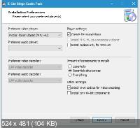 K-Lite Mega / Full / Basic / Standard / Codec Pack 14.8.5