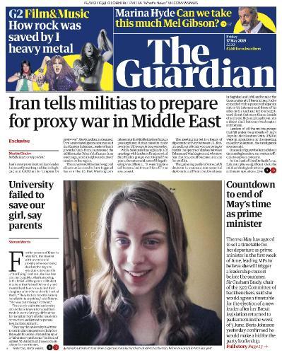 The Guardian UK - 17 05 (2019)