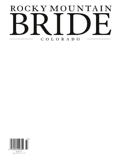 Rocky Mountain Bride Colorado Fall-Winter 2017-(2018)