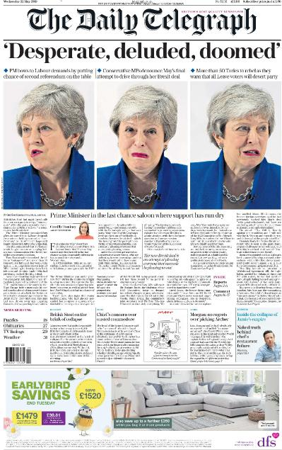 The Daily Telegraph - 22 05 (2019)