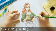 """Учимся рисовать в стиле """"Аниме"""" (2018) Видеокурс"""
