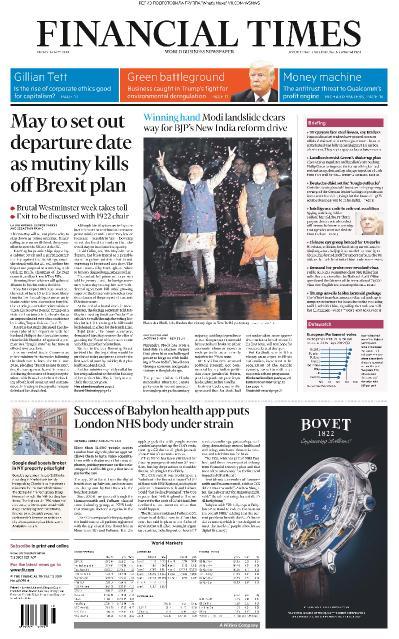 Financial Times UK - 24 05 (2019)