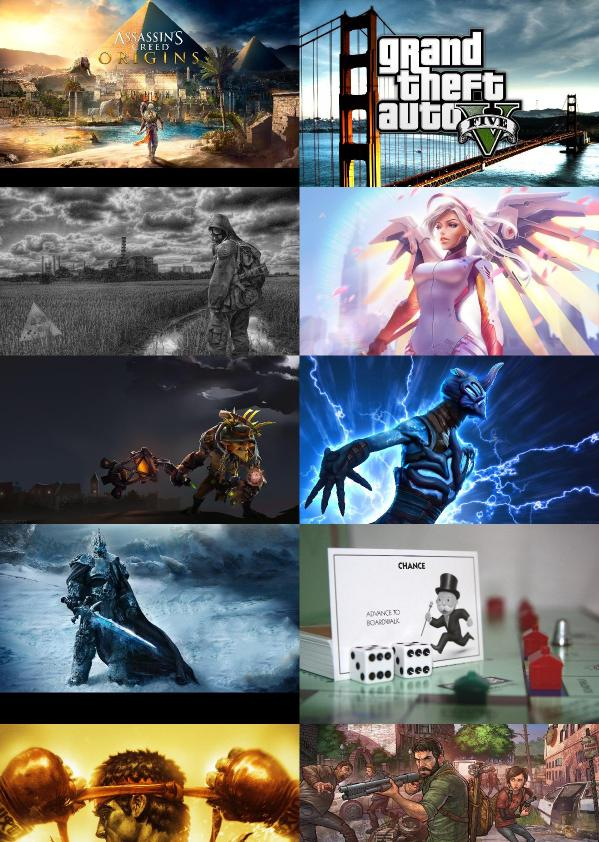 Beautiful And Amazing Game Wallpapers Set 30