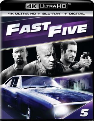 Форсаж 5 / Fast Five (2011) BDRemux 2160p | HDR | Театральная версия