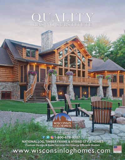 Log Home Living  June (2019)