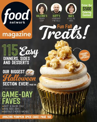 Food Network  October (2017)
