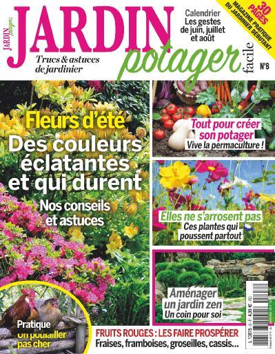 Jardin Potager Facile N 8 Juin-Ao 251 t (2019)