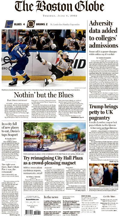 The Boston Globe - 04 06 (2019)
