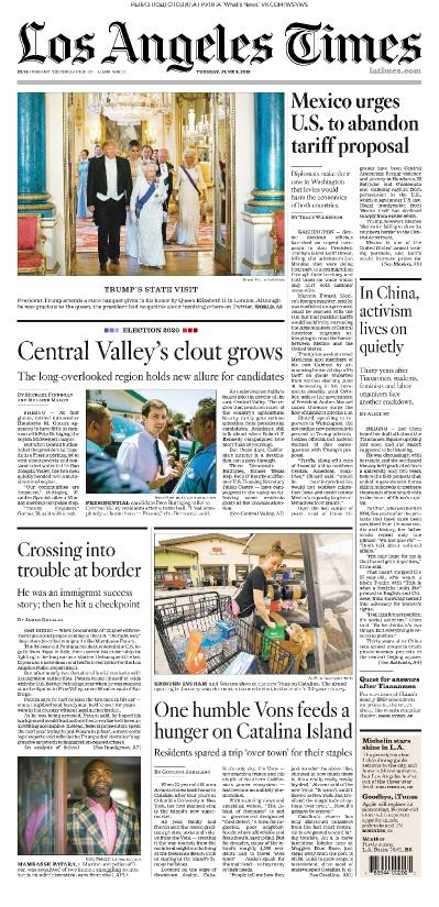 Los Angeles Times - 04 06 (2019)