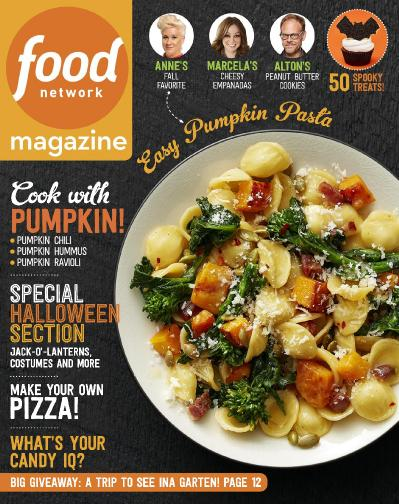 Food Network - October 2016 1