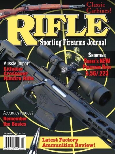 Rifle Magazine  September-October (2017)