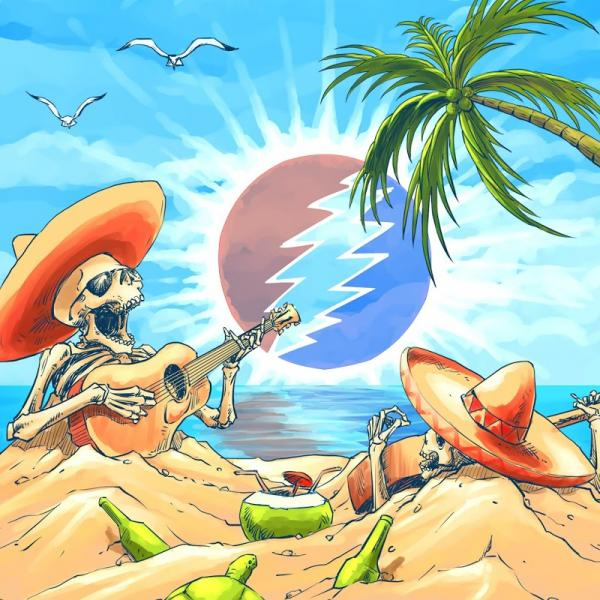 Dead And Company Playing In The Sand Riviera Maya Mx 2  18  18 Live  (2019) Entitled