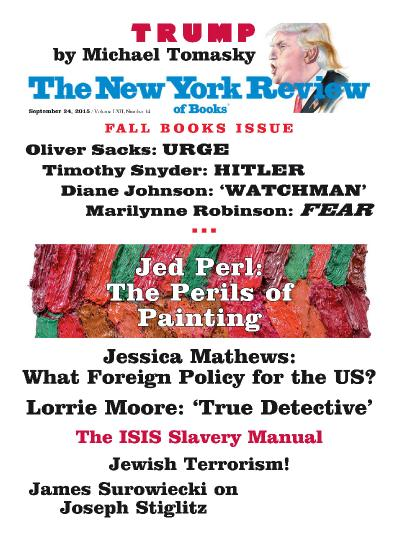 The New York Review of Books - September 24 (2015)