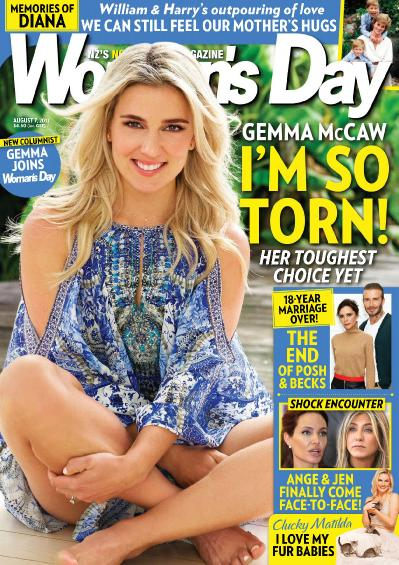 Woman s Day New Zealand  August 7 (2017)