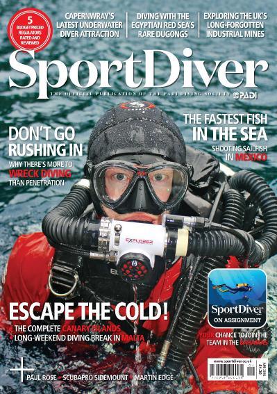 Sport Diver - April 2016 UK