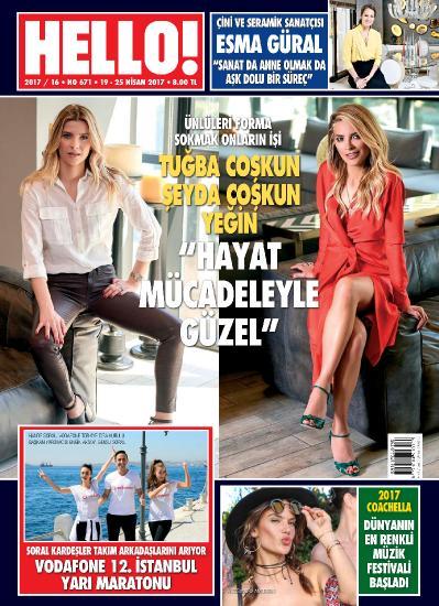 Hello ! Turkey  19-25 Nisan (2017)