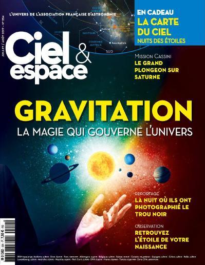 Ciel & Espace  Juillet-Ao 251 t (2017)