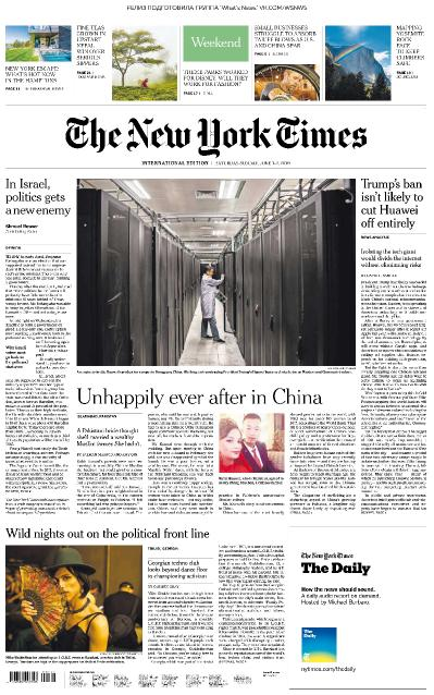 The New York Times International - 01 06 2019 - 02 06 (2019)