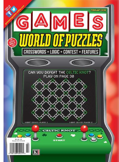 Games World of Puzzles  February (2018)